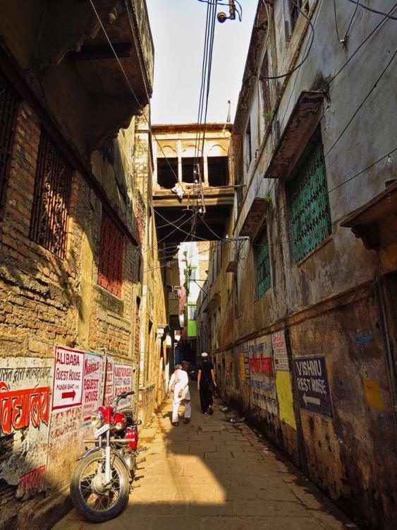 Gasse in Varanasi