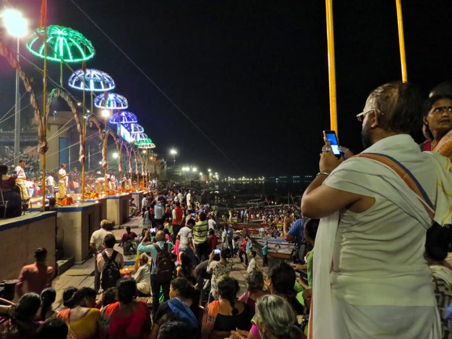 Ganga Aarti am Dashashwamedh Ghat