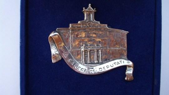 Placchetta Camera dei deputati