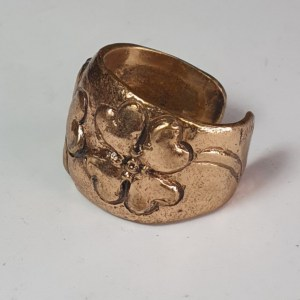 quadrifoglio mortet anello