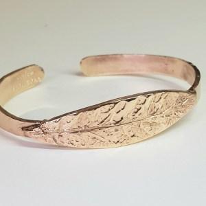 bracciale bronzo mortet alloro