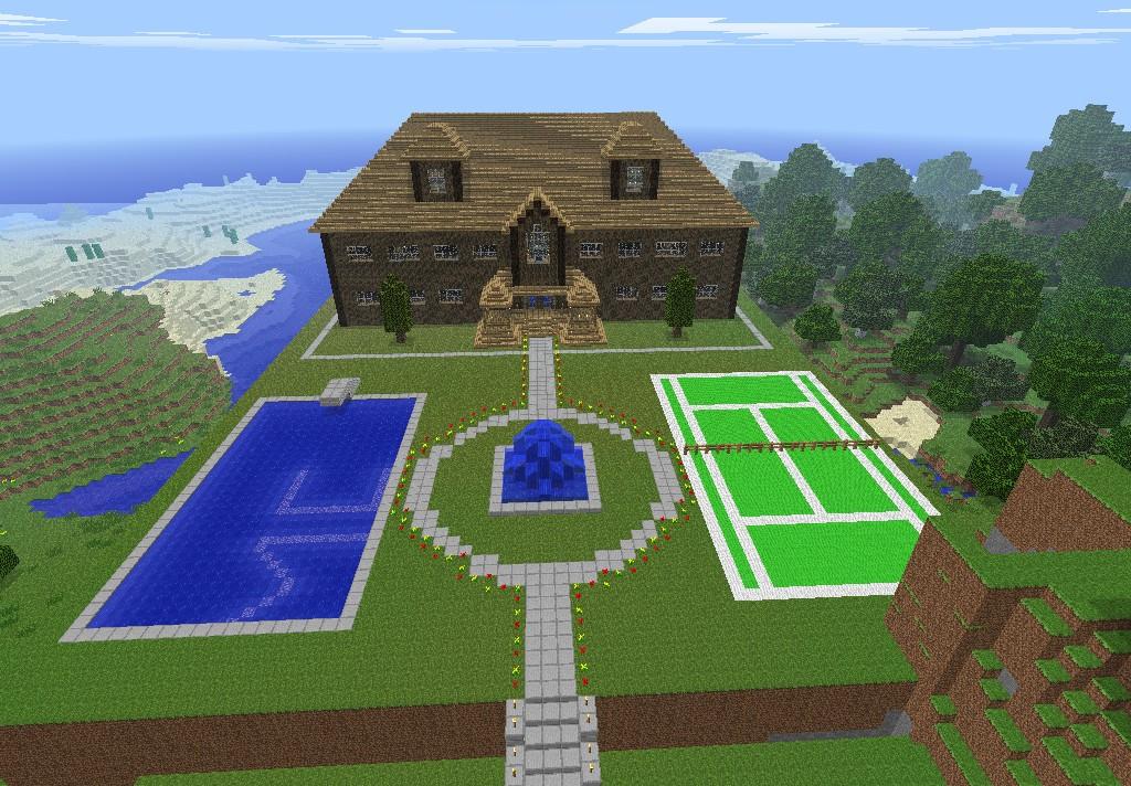 Amazing Minecraft Mansion  Dream Homes  Mortgage Calculator