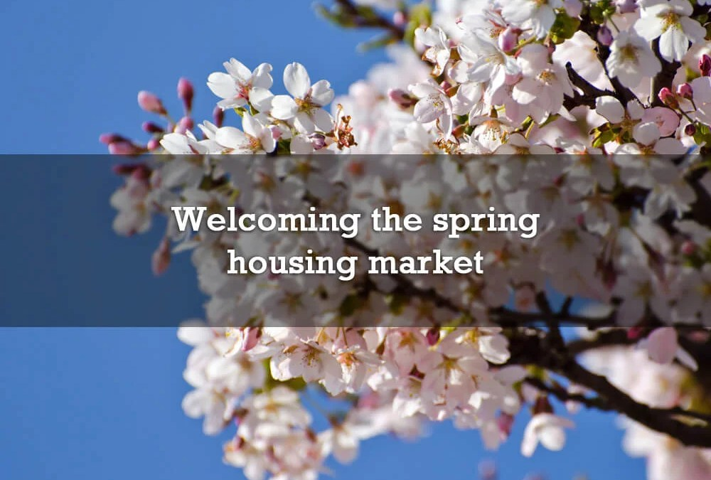 Welcoming the spring housing market