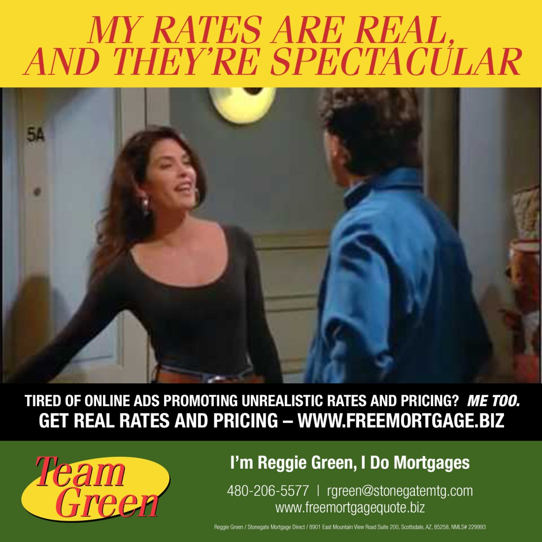 Seinfeld - Real Rates