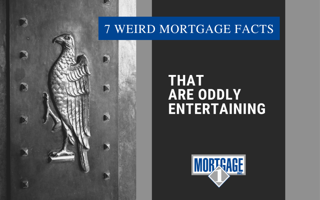 "Featured image for ""7 Weird Mortgage Facts That Are Oddly Entertaining"" blog post"