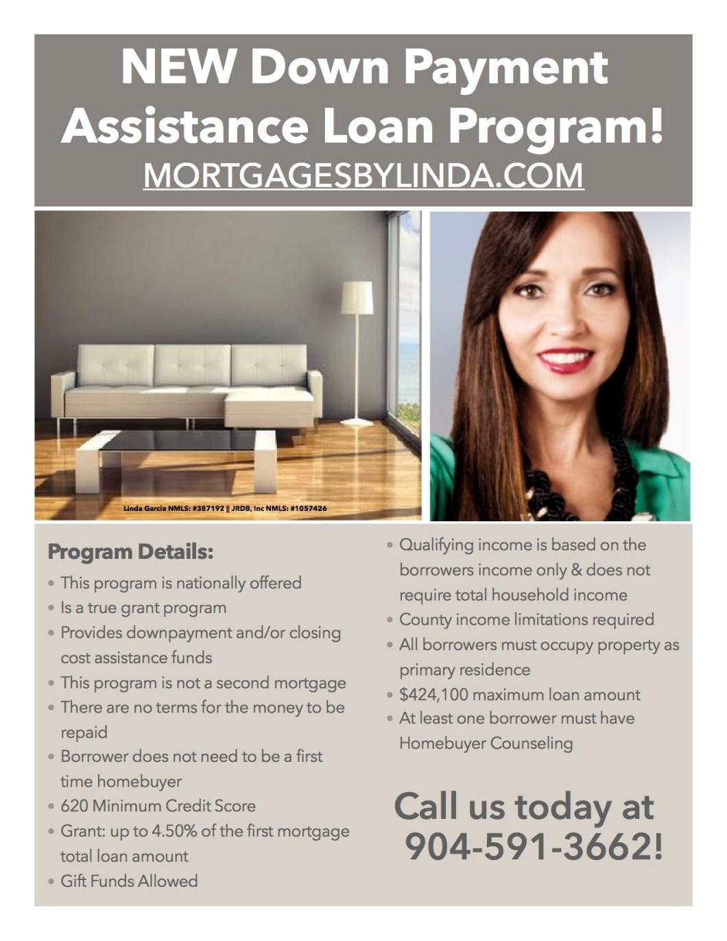 Down Payment Assistance Program Flier