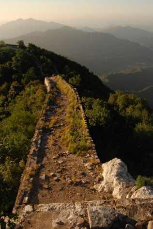 Section of Great Wall - unrestored