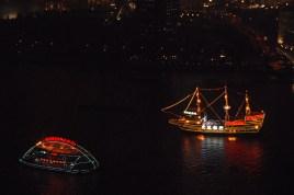 Boats on the Huangpu River, Shanghai