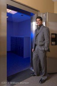 Executive portrait of assistant branch manager Chris De Jesus