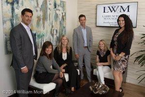 office group portrait of Labrum Wealth Management
