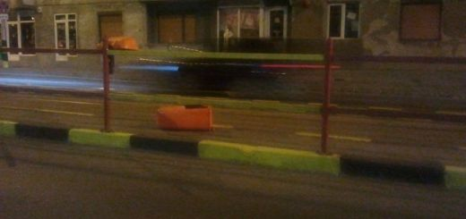 gunoi vandalizat statia de tramvai Decebal oradea
