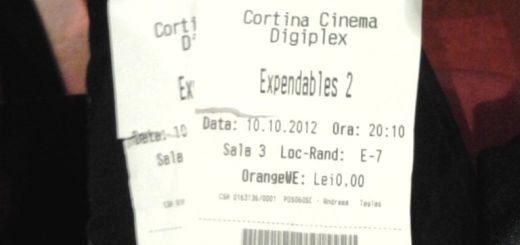 Bilet Expendables 2