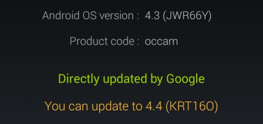 Andoid 4.4 KitKat pe Nexus 4