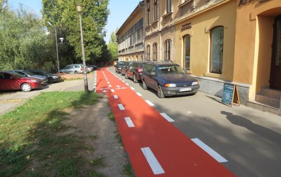 pista biciclete oradea