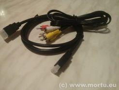 Decoodor Kaon 1410HD - cablu RCA