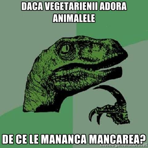 dinosaur meme - Vegetarieni