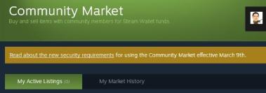 Community Market - Steam
