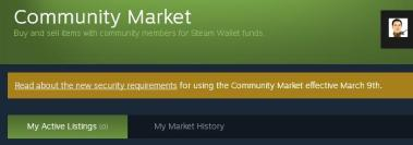 Community Market - Steam