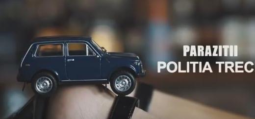 Parazitii - Politia trece