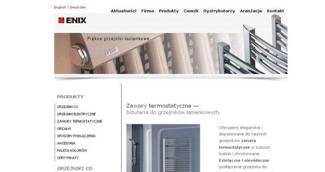 enix design - producent grzejników