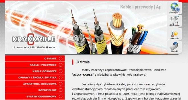 Krakkable - dystrybucja kabli