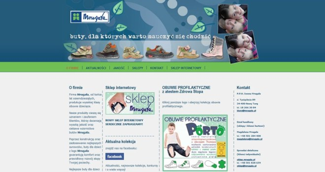 mrugala - producent obuwia dla dzieci