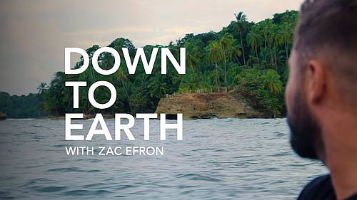 "In a new travel show, ""Down to Earth with Zac Efron,"" Zac Efron ..."