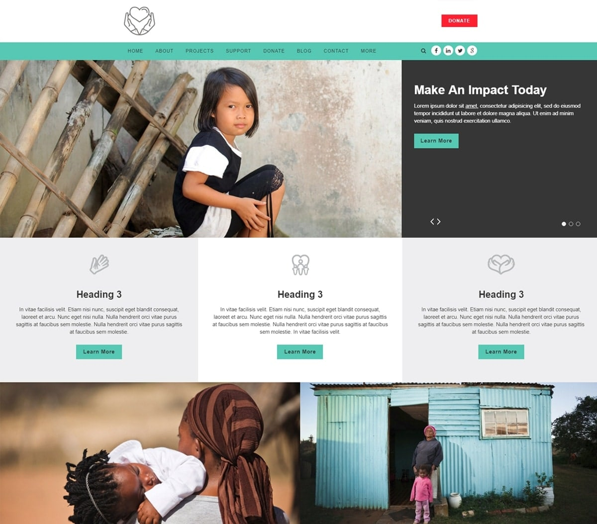 After overcoming great obstacles, some people find themselves wanting to help others have the same succe. Top 9 Nonprofit Website Templates For All Organizations
