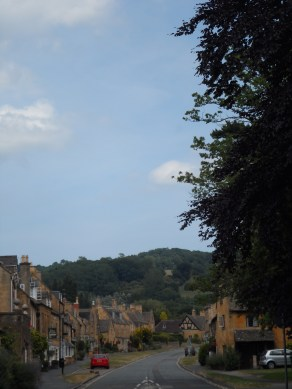 Beautiful English weather in the Cotswolds