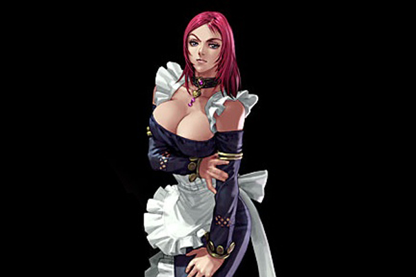 Valeria, from Soul Caliber IV... not quite the same thing