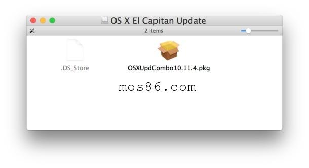如何使用組合更新來安裝Mac OS X更新   MOS86