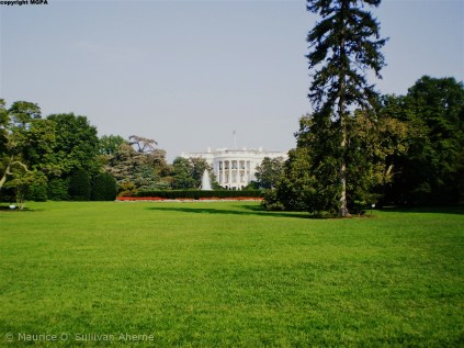 The WC. White House. One year before I got inside.