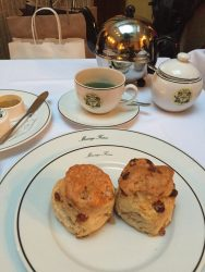 Scones at Mariage Freres