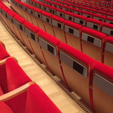 State of the art audiovisual equipment