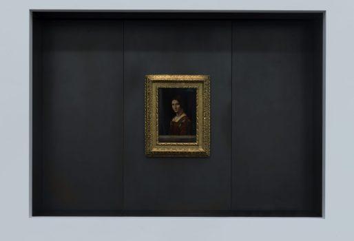 10. Louvre Abu Dhabi – Leonardo da Vinci, 'La Belle Ferroniere', musée du Louvre © Louvre Abu Dhabi, MD