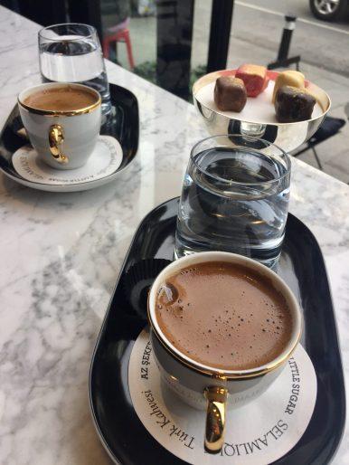 Coffee at Selamlique - photo @epitome.xyz