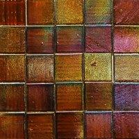 Kaleidoscope Iridescent Glass Mosaic Tiles 3/4 Inch