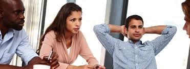 Employees getting counselling