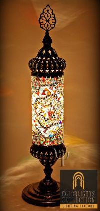 Mosaic Lamps | Ottoman Lamps | Turkish Lighting ...