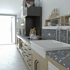 Kitchen Mosaic Ikea Table Set Projects Miro 21 Biancone Silvagrey