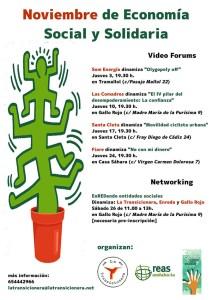 Cartel Noviembre Economía Social y Solidaria