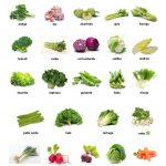 Verduras de Enero