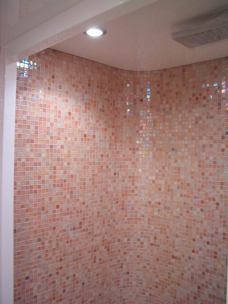 PICCOLA GALLERIA mosaico di rivestimento  i mosaici del laboratorio san Luca