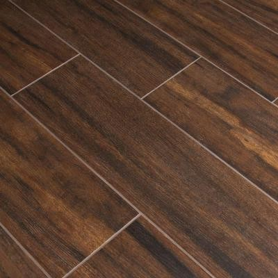 6 in x 24 inBotanica Teak Glazed Porcelain Floor and