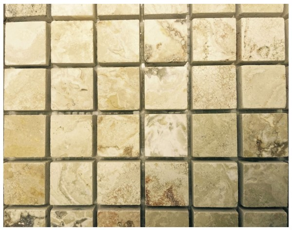 Onyx Travertine 1x1 And Mosaic Tiles