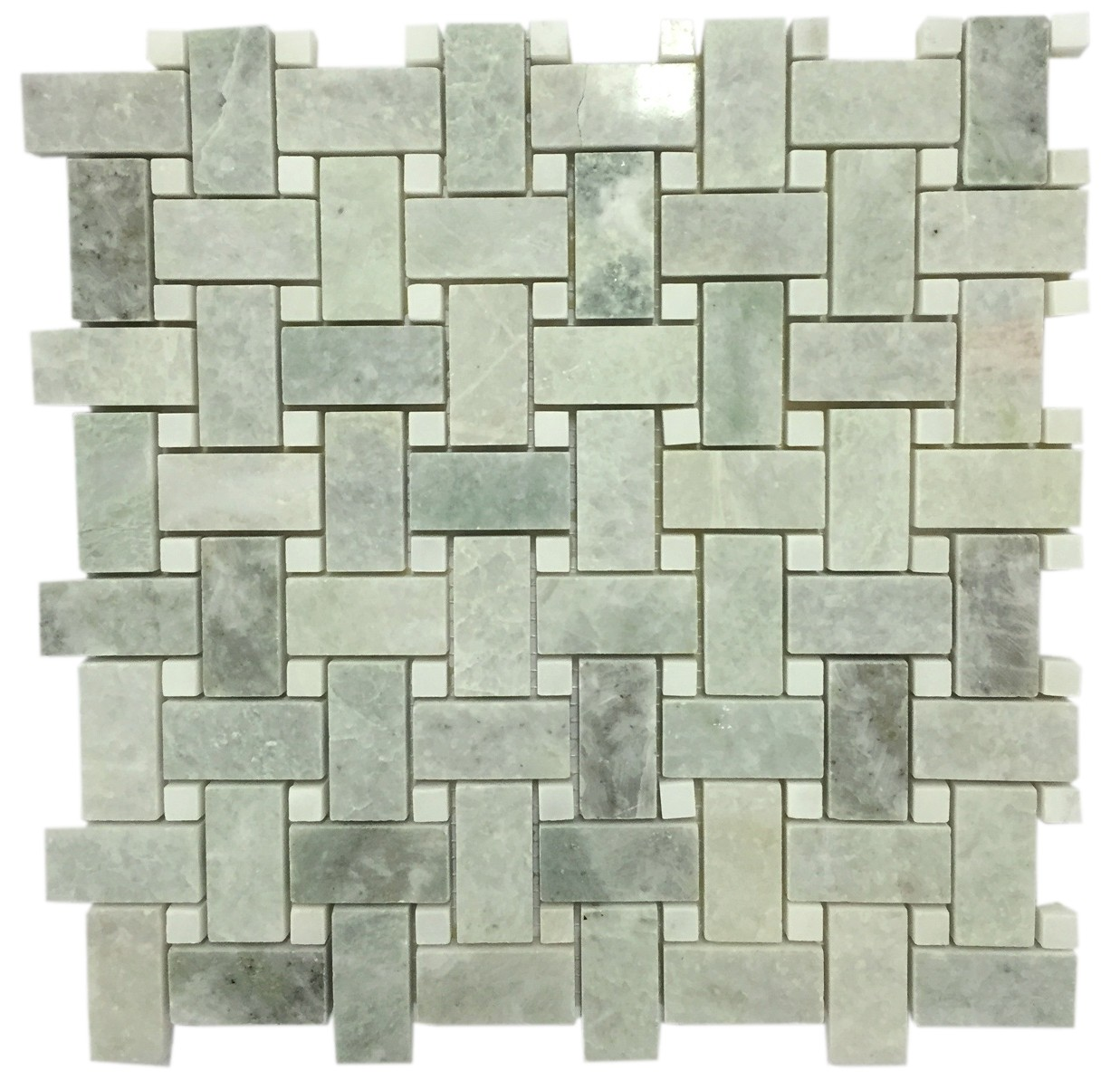 Ming Green Marble Mosaic Tile