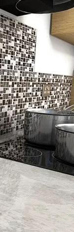 mosaic kitchen tile framed art tiles wall uk village fantasy neo