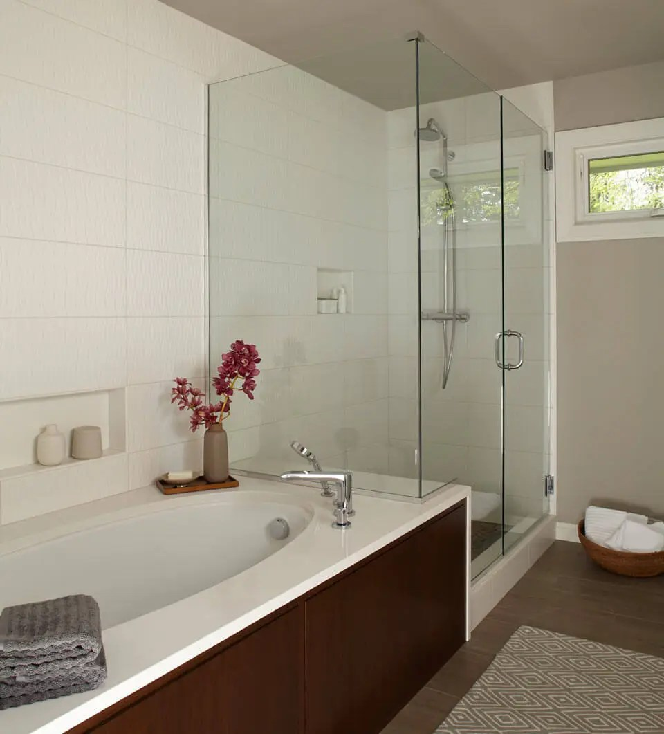 Image Result For How To Make A Small Bathroom Look Bigger With Tile