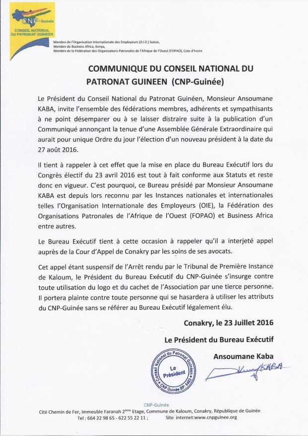 Communiqué-Conseil-National-du-patronat