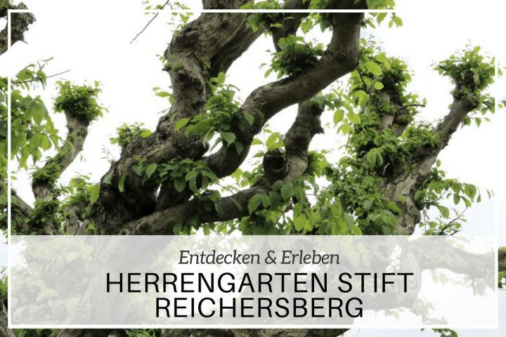 Mosauerins Lieblingsplatzl im Innviertel: Herrengarten Reichersberg